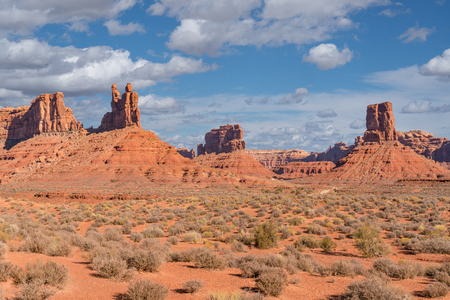 Valley of the Gods in Utah located within the Bears Ears National Monument.