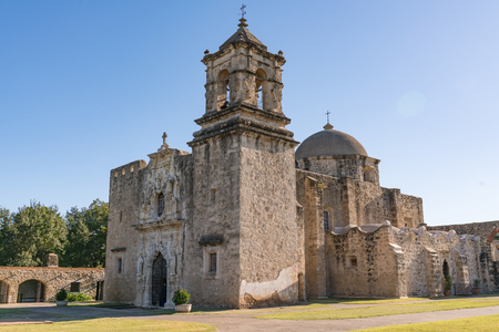 Mission San Jose in San Antonio Missions National Historic Park, Texas