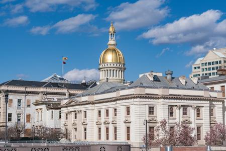 Edificio del capitolio del estado de Nueva Jersey en Trenton