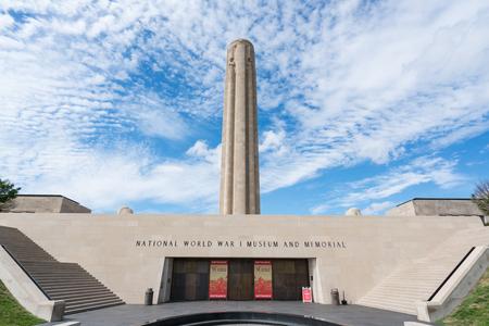 KANSAS CITY, MO - JUNE 20, 2018: Kansas City World War I Liberty Memorial and Museum constructed in 1926