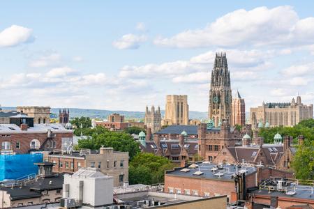 Toits de la ville de New Haven, Connecticut