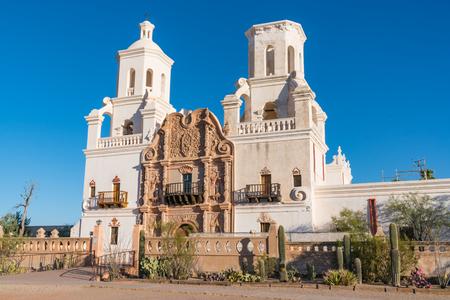 The historic Mission San Xavier del Bac Tucson, Arizona