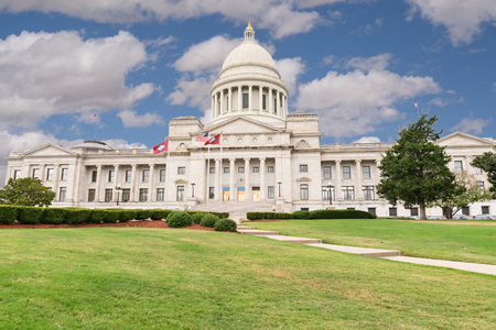 Arkansas Capitol Building in Little Rock, AR Imagens