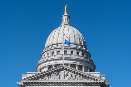 Wisconsin State Capitol Building in Madison, Wisconsin