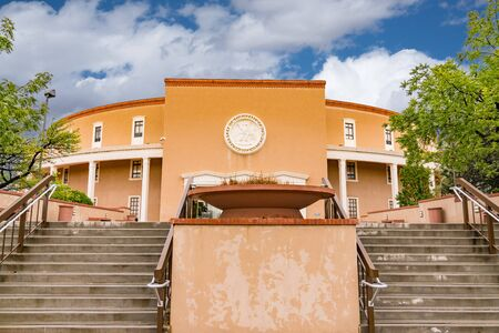 New Mexico State Capitol Building in Santa Fe Banque d'images