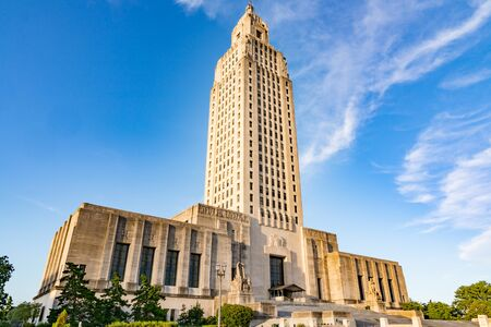 Edificio del Capitolio del Estado de Louisiana en Baton Rouge