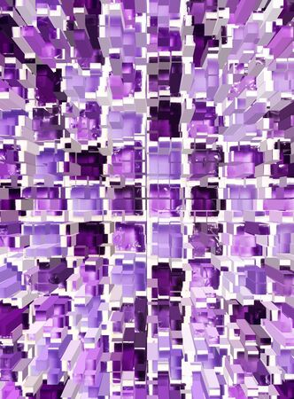 dimension: abstract violet mosaic dimension background