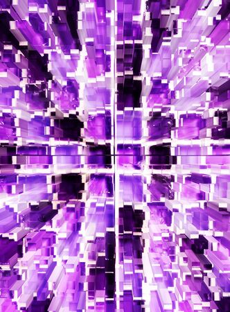 dimension: abstract violet mosaic dimension zoom background