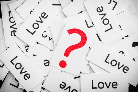 too many: Questions about the Love , too many love label