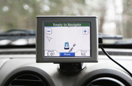 GPS navigation system Stock fotó