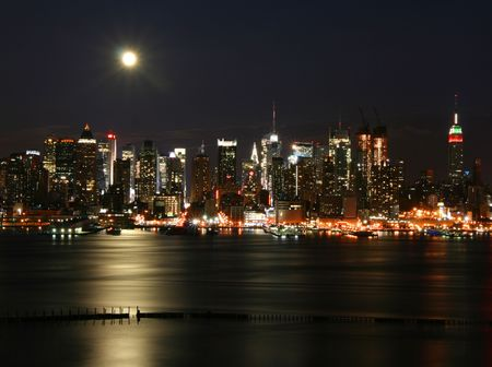 New York at night Stock Photo - 4336302