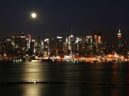 New York at night Stock Photo - 4336302