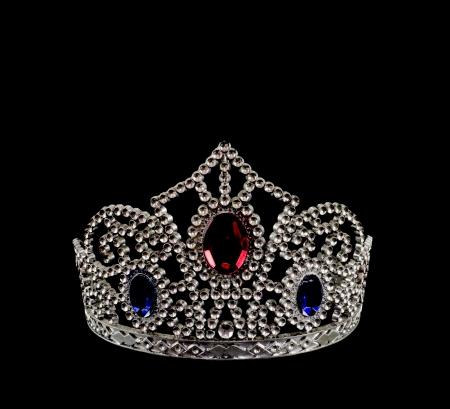 koninklijke kroon: De kroon is het symbool van de mooiste, royalty en succesvol Stockfoto