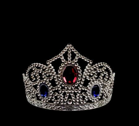 royalty: The crown is  symbol of the most beautiful, royalty and successful Stock Photo