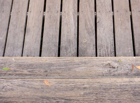 ventricle: Background and texture style of wood floor in ventricle and horizontal Stock Photo