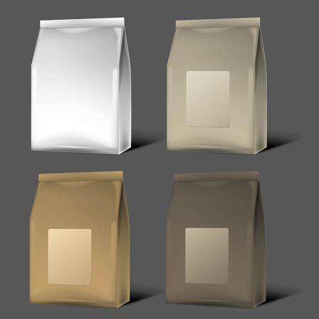 Blank Packaging mock up, 3D