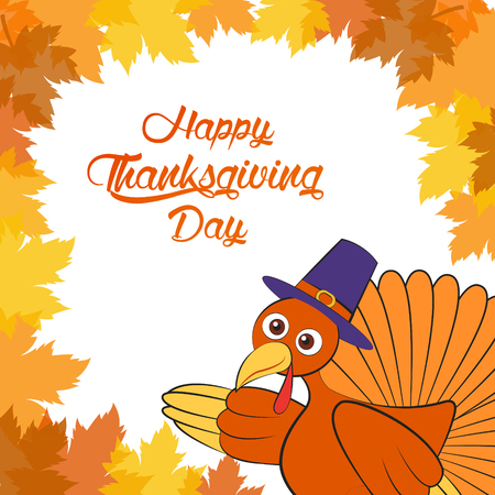 similar images preview: Preview Save to a lightbox  Find Similar Images  Share Stock Illustration: autumn , Maple leaves Background, Thanksgiving, turkey ,Illustration Illustration