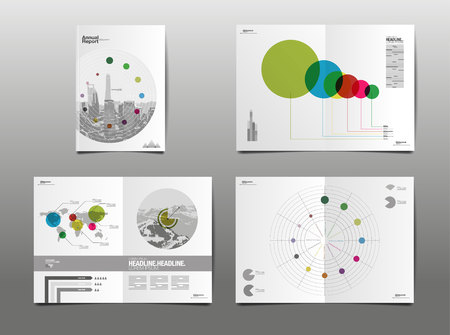 annual report 2017, template layout design,  cover book. vector illustration,presentation abstract flat background.