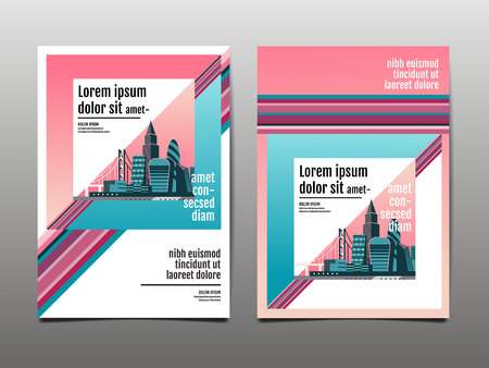 annual report 2019 ,future, business, template layout design, cover book. vector illustration,presentation abstract flat background.