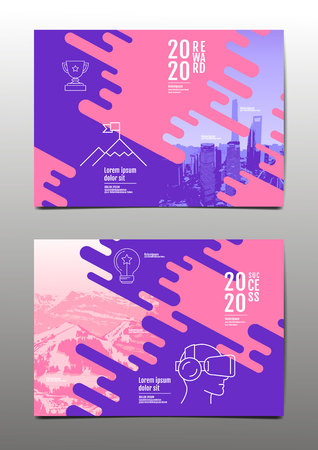 annual report 2020,2021 ,future, business, template layout design, cover book. vector illustration,presentation abstract flat background.