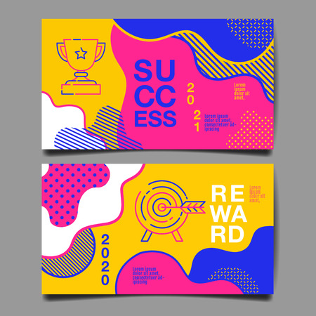 annual report 2020,2021 ,future, business, template layout design, cover book. vector colorful, infographic, abstract flat background. Ilustração