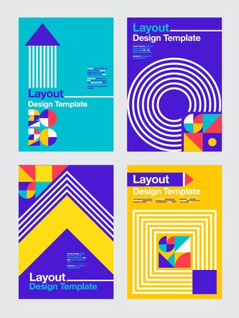 layout design template , 2020 ,future, business,  cover book. vector colorful, infographic, abstract flat background. 일러스트