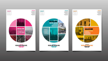 Layout Design Template, Cover Book, Annaul Report, City Abstract Background Stockfoto - 152343232