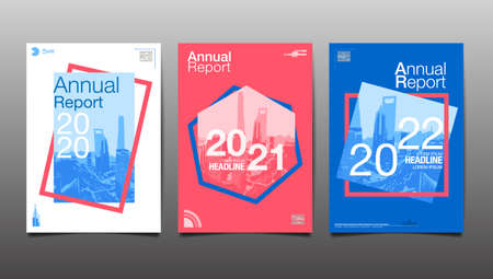 annual report 2020,2021,2022,2023 ,future, business, template layout design, cover book. vector illustration,presentation abstract  background.