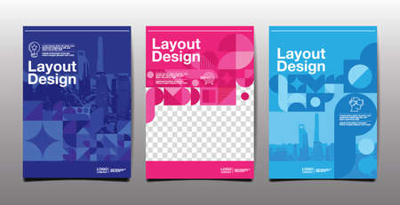 template layout design, cover book. vector illustration , presentation abstract flat background