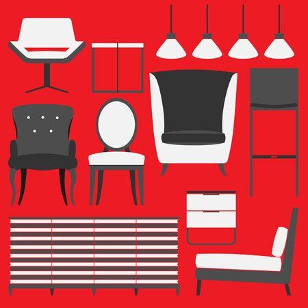 home accessories: Retro Furniture and Home Accessories.