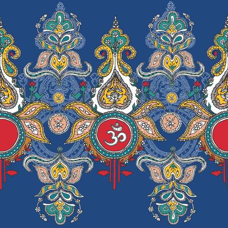 Symbol lord shiva om.pattern