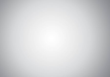 White gray blurred gradient background surround.Empty gray studio room, used for display your products.