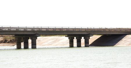 river side: bridge over the river side view