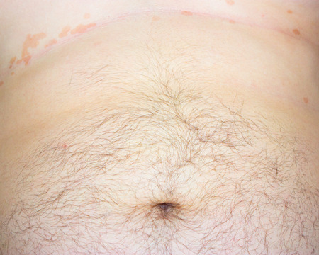 masculine hairy belly