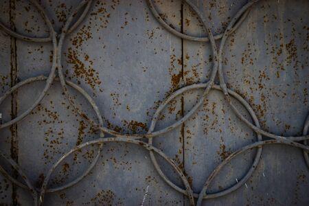 iron metal background Reklamní fotografie