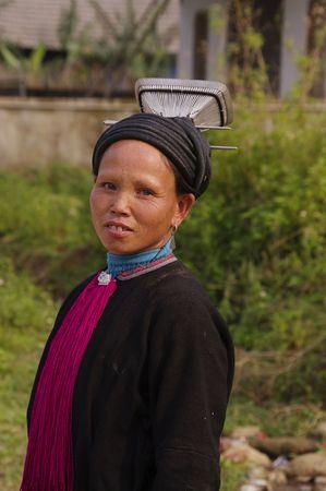 Black Dao woman Stock Photo - 7735510
