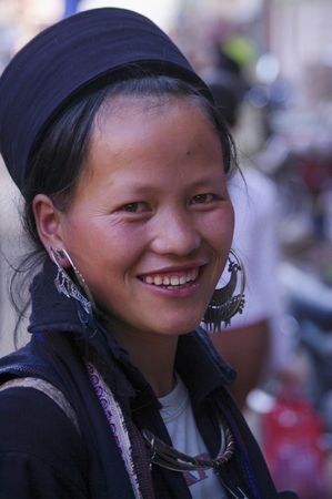 Black Hmong Woman Stock Photo - 7735511