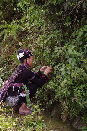 Female ethnic lu photo