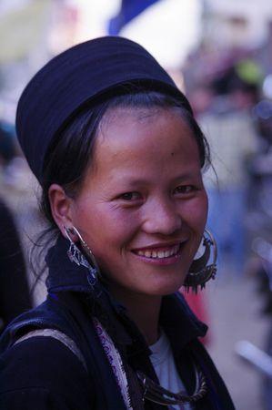 Black Hmong Woman  Stock Photo - 8058659