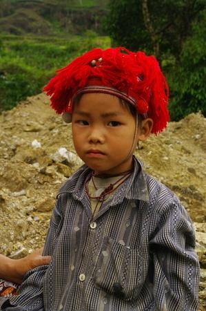 dao: Child Red Dao Stock Photo