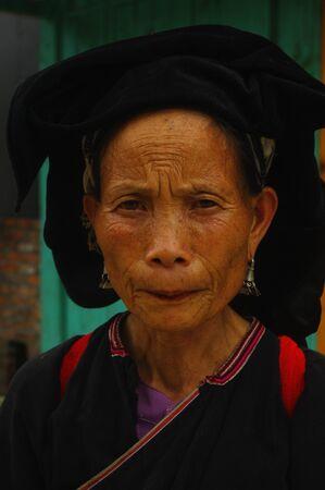 dao: Female ethnic Dao Mang portrait