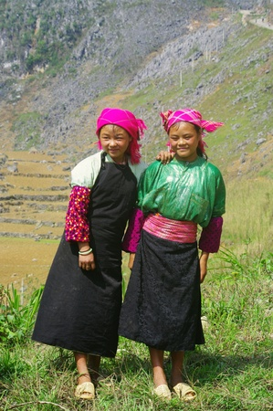White Hmong Girls