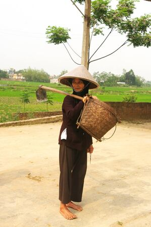 it is the son of costumes typical job, the son of bamboo network and its deck. photo