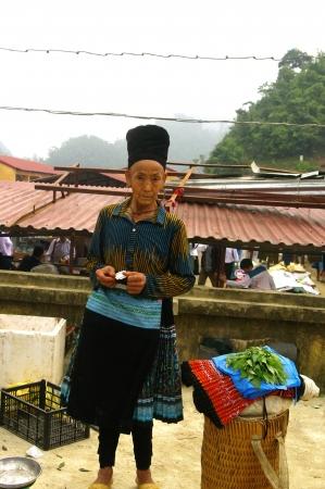 Black Hmong woman Stock Photo - 18594165