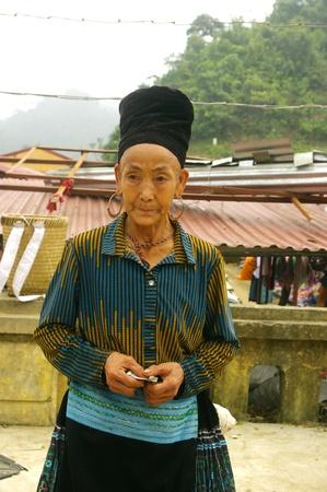 Portrait of a Black Hmong woman Stock Photo - 18594166