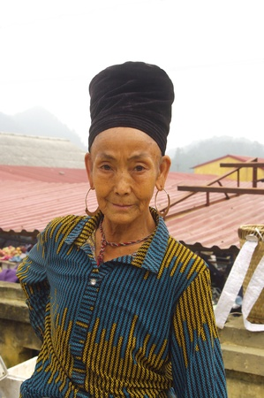 Portrait of a Black Hmong woman Stock Photo - 18614655