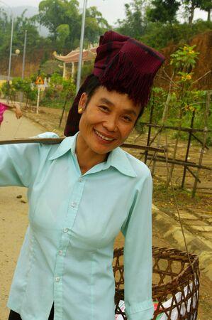Khang ethnic woman Stock Photo