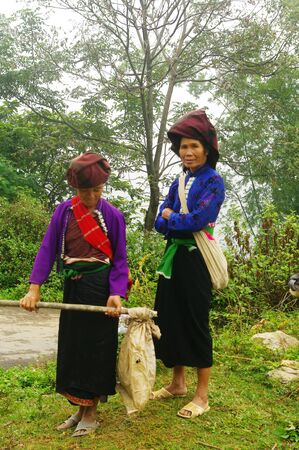 White Khang ethnic women photo