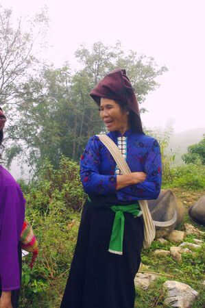 Woman of White Khang  ethnic