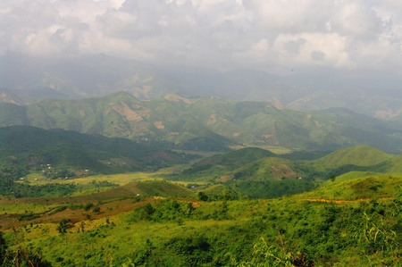 The northwest is the most fertile mountainous northern Vietnam  This shows the tasks chestnuts cultivated areas and forest retreats  The practice of burning despite being prohibited and deforestation make the land very unstable